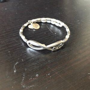 Alex and Ani Love Wrap Bracelet